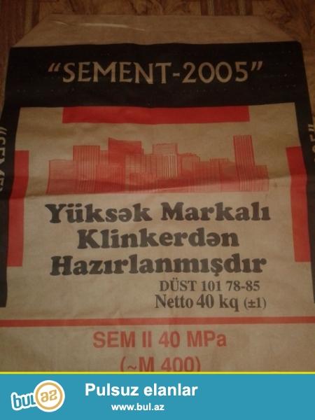 Sement-2005 keyfiyyetine soz ola bilmez 400 marka sementdir