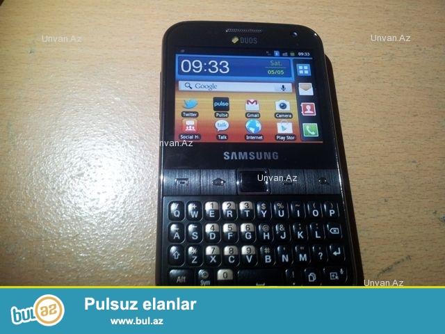 Samsung galaxy y pro gtb 5512<br /> razilasma yolu ile de mumkundur<br /> adapteri uzerinde verilir<br /> Sekilde gorduyunuz veziyyetdedir...