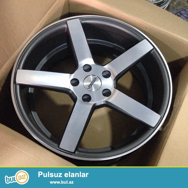 TEKER - Dunlop Direzza, qabag-245/40r18, arxa-255/35r18<br /> DISK - Vossen CV3...