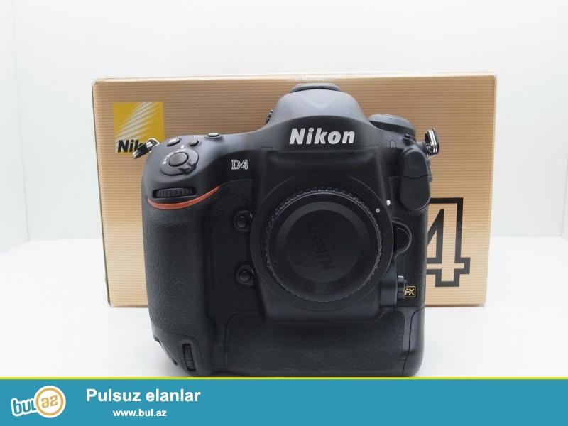 Nikon D4 Digital SLR Camera (Body Yalnız)<br /> <br /> Xoşbəxt müştərilərin xoşbəxt cəmiyyət edir...