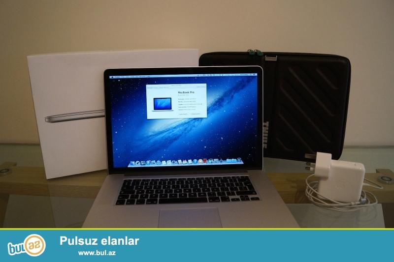 Apple MacBook Pro 15 Retina Display<br /> <br /> Xoşbəxt müştərilərin xoşbəxt cəmiyyət edir...