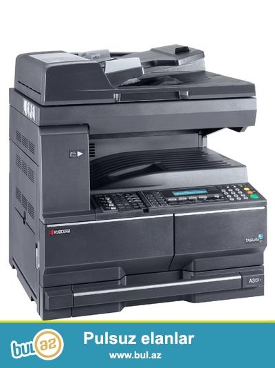 Kyocera Printer, surətçıxaran, skaner, fax aparatları satıram...