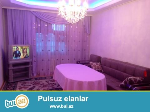 Cдается 3-х комнатная квартира в центре города,около метро Гянджлик...