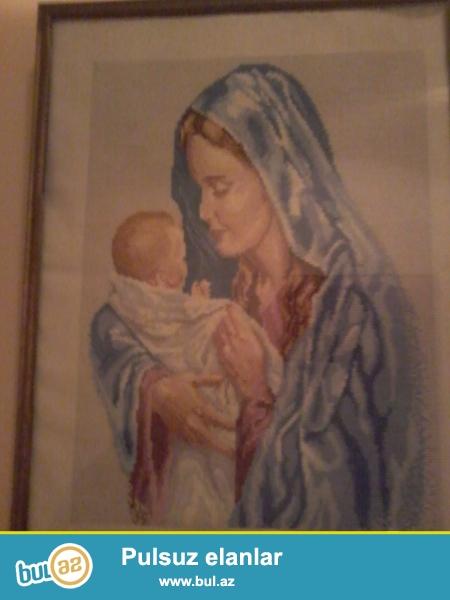 Meryemle Hisusun el ile toxunma senet eseri esrden cox yasi var ...
