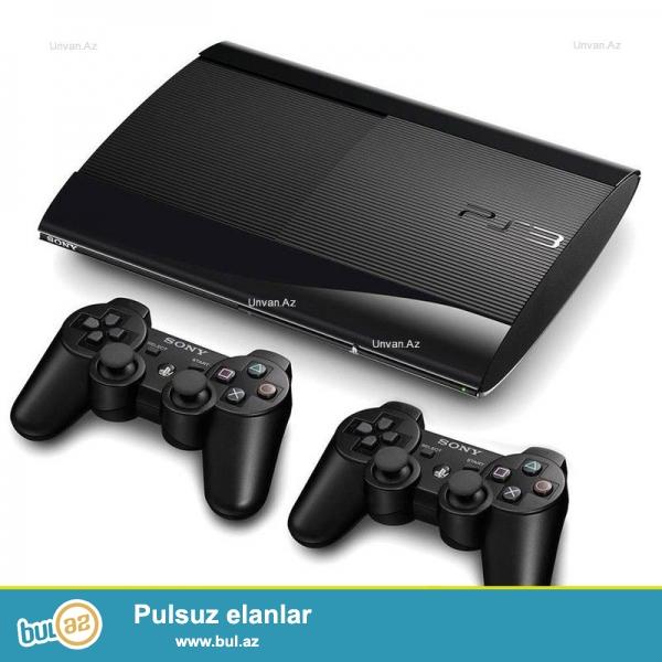 Playstation 3 Satilir 1eded orijinal jostiki var ela veziyetdedi az ishlenib 4 aydi alinib