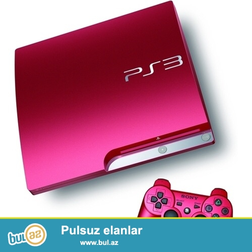 Tecili Playstation 3 sindirilmish (ps3 proshivkali) satiram...