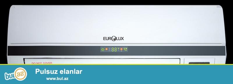 Eurolux firmasinin kondisioneri satiram. Tezedir oz qutusundadir...