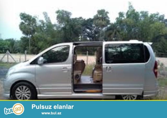 Mikroavtobus ve avtobusla sifarish qebul olunur