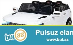 2motor,2akum,2suretli,2qapilari acilir,mp3 var,pult ile idare olunur,1-6 yash ushaqlar ucun yararlidir.