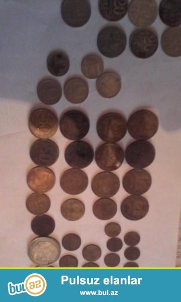 Rus rubullari satilir.1,2,3,5,10,15,20,50 qepiklier...