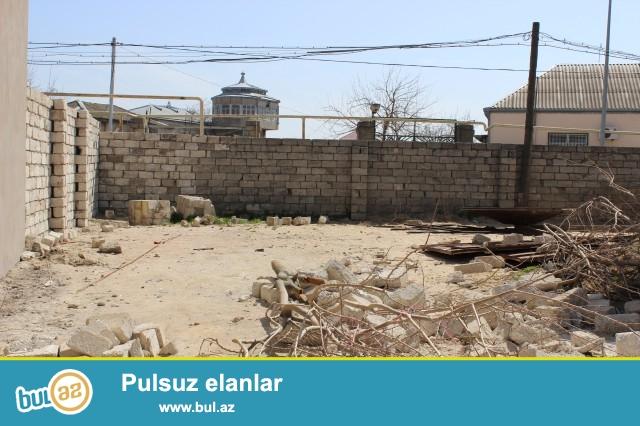 ELÇİN Sabunçu rayonu Zabrat 2 qəsəbəsi Seyid marketin arxasında 2 sot torpaq satılır...
