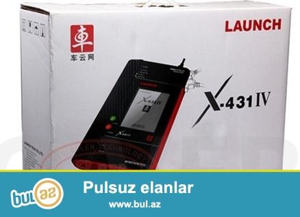 bütün növ avtomobillərin diaqnostikasi ücün Launch x 431 IV  dizel və benzinlə işləyən maşınlar...