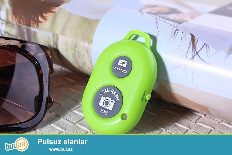 YENI<br /> Selfi aparatı+uzaqdan idarəetmə pultu butun modell telefonlar üçün və qopro üçün<br /> batareya daxil deyl pakete<br /> pakete daxildir<br /> selfi chubugu<br /> pult