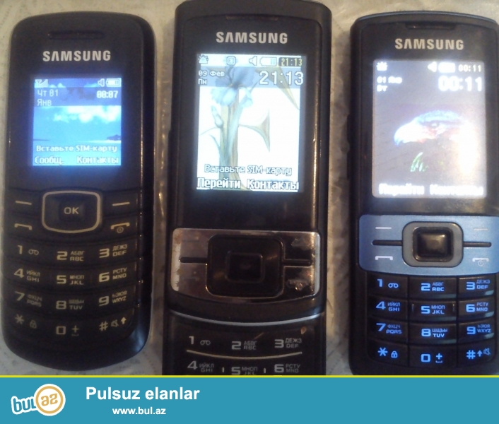 samsung telfonlar satiram ucuz qiymete sekildekilerdi
