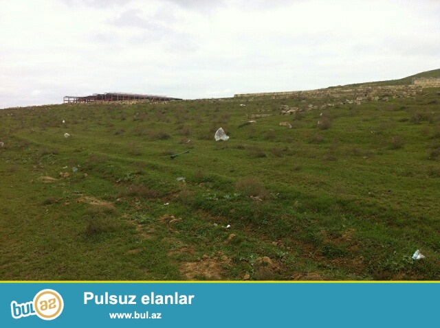 Xezer rayonu,Bine qesebesinde ,kecmis talkuckanin erazisinde esas yoldan 150- 200 m iceride 1 sotu 2200 aznden 30 sot torpagimi satiram ...