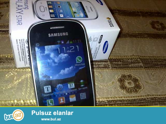Samsung GT-S5282, Android,WI-FI, Whatsap, Viber, Istaqram ve s...