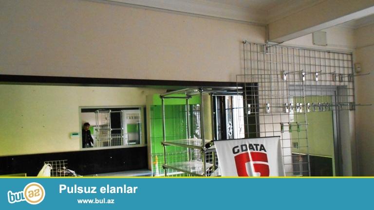 Сдается помещение в центре города,про проспекту Азадлыг, рядом с Насиминским полицейским управлением...