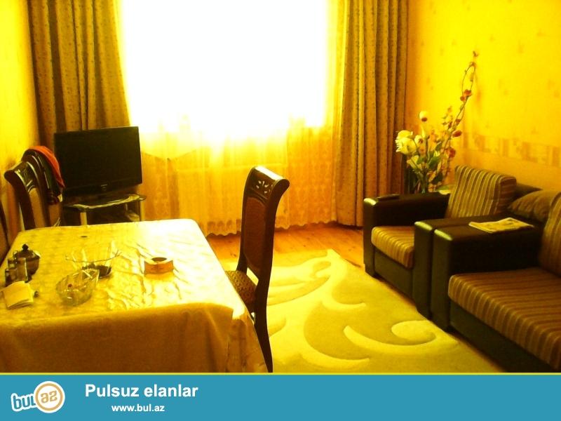 """Новостройка! Cдается 3-х комнатная квартира в Сабаильском районе, в поселке Патамдарт, над """"Бизим""""маркетом..."""