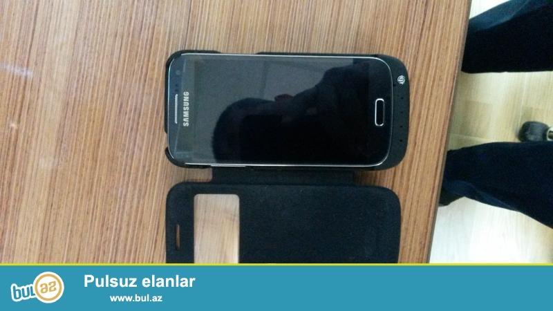 Telefona aid SAMSUNG S4 mini üçün almışdım, işlətməmişəm...