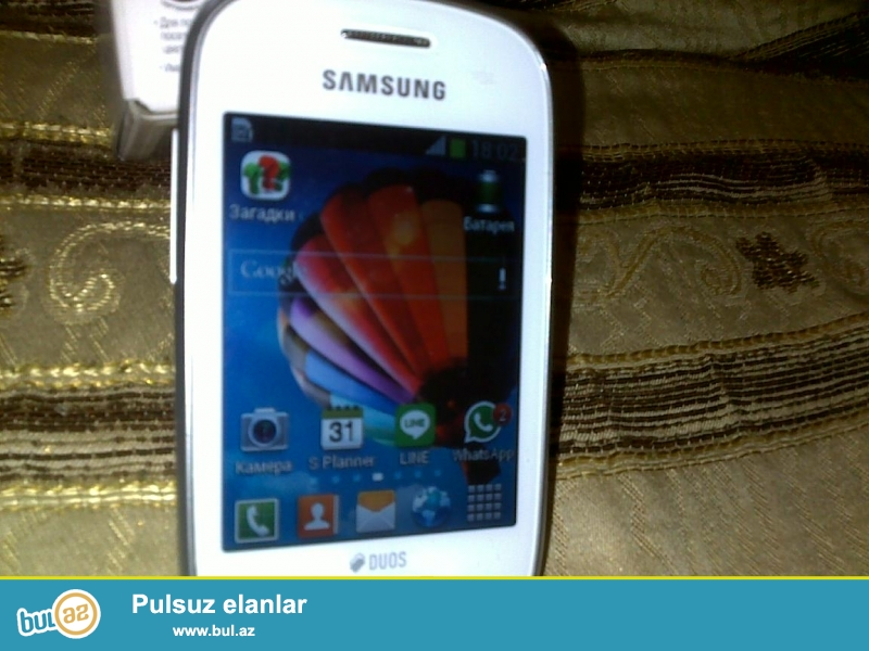 Samsunq qalaxy star gt5282 satilir. wi-fi, whatsaap, viber ve s...