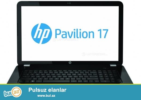 HP Pavilion 17-e012sr.  AMD A10 4600, 8gb ram . 1vga, Ekran 17.    Yenidir . qaranlig qalan suala gora elaqe saxliya bilersiz...