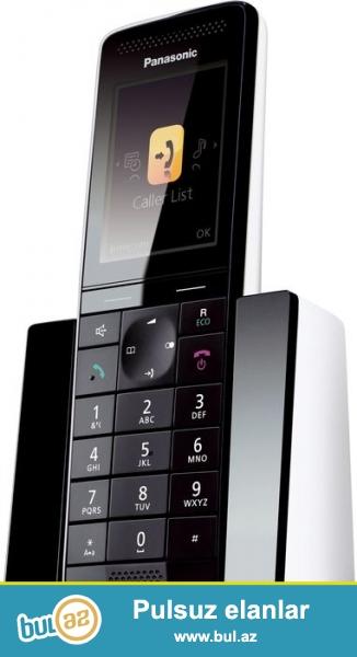 Tam yeni, qutuda, salafanin ichinde. Premium dizayn panasonic ev telefonu...