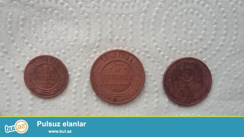 1910-cu ilə aid 1 kopuk və 3 kopuk. <br /> 1988-ci ilə aid 5 kopuk...