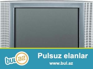 Jvc markali, ekran 54 diaqonal ,boz rengde televizor satilir...