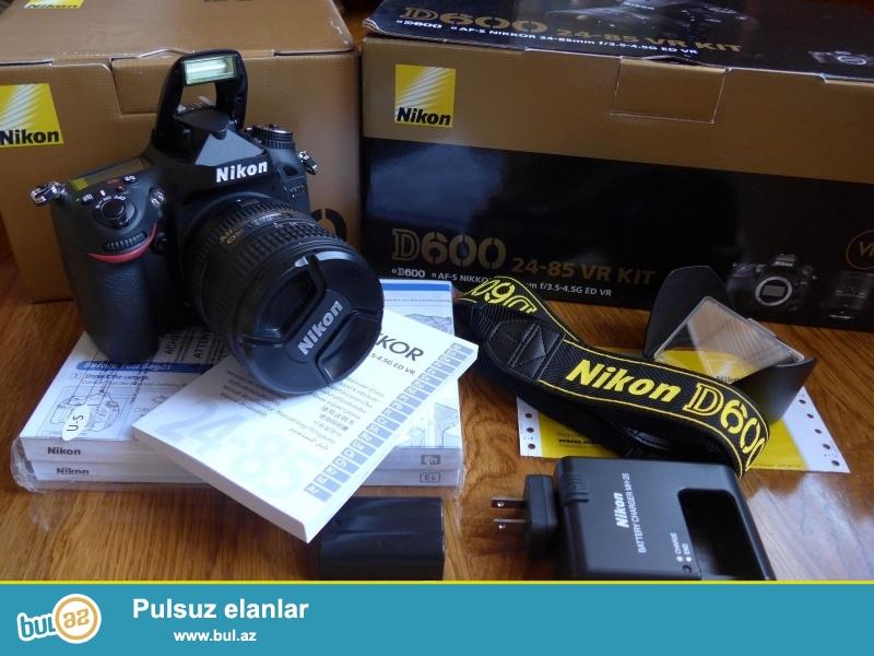 24-85mm Lens ilə Nikon D600 DSLR<br /> <br /> Xoşbəxt müştərilərin xoşbəxt cəmiyyət edir...
