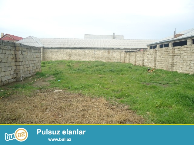 RAUF Sabunçu rayonu, Zabrat Maştağa yolunun sol tərəfində kanalın üstü deyilən ərazidə yoldan 200 metr məsafədə 10 sot torpaq sahəsi satılır...