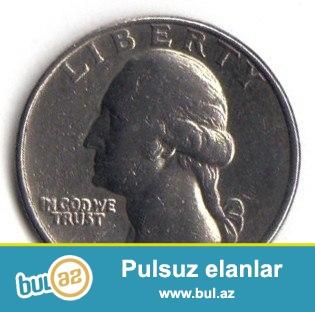Quarter Dollar Liberty 1974 г  satilir. ciddi sexsler elaqe saxlasin.