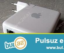 Точка доступа Wi-Fi Apple A1264 AirPort Express<br /> Мобильная точка доступа Wi-Fi Apple A1264 AirPort Express (MB321Z/A) оснащена несколькими портами - USB, для подключения принтера, сетевым 10/100BASE-T, аудио mini-jack - для подключения внешней стереосистемы...