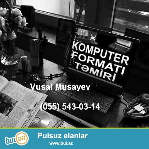 Evlerde ve ofislerde Komputerlerin Format Olunmasi Antiviruslarin Yazilmasi...