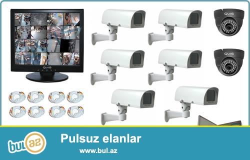 VİP ELectronics şirkəti dəyərli müştərilərinə təhlükəsizlik kameraları ilə evinizin, bağınızın, magaza, ofis və s...