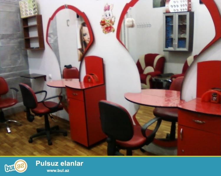 Nərimanov rayonunda Şərq bazarının yanında kişi və ya qadın salonu üçün uygun,tam hazır obyekt satılır...
