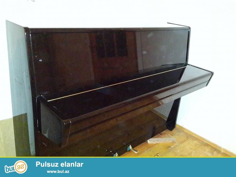 qehveyi rengli petrov pianinosu idal veiyyetdedir
