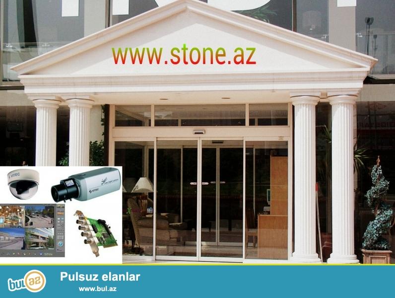 """Biz Stone Construction Shirketi olaraq """"Fotoselli qapini bizden alin Nezaret kamerasini hediyye qazanin"""" adli kompaniya aksiyasina bashlayiriq..."""