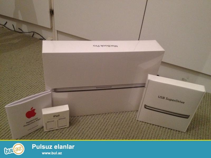 Apple Macbook Retina displey ilə 13,3 düym i5 2.6 GHz 128Gb pro...