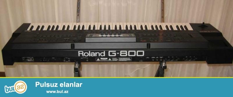 Roland g800 G1000 em2000 aliram G800 100 azn G1000 em2000 200 azn islek veziyetde...