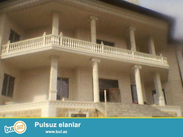 Bakixanov qesebesinde 6 sotun icinde 2 mertebeli 1 mansari olan villa deyerinden asagi qiymete satilir...