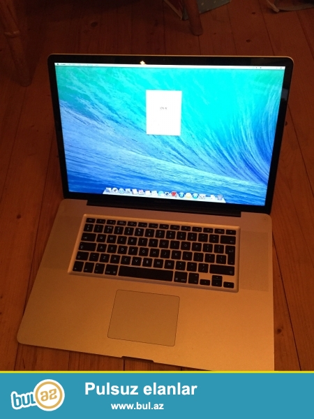 """APPLE MacBook """"17 keçməlisiniz<br /> <br /> Xoşbəxt müştərilərin xoşbəxt cəmiyyət edir..."""