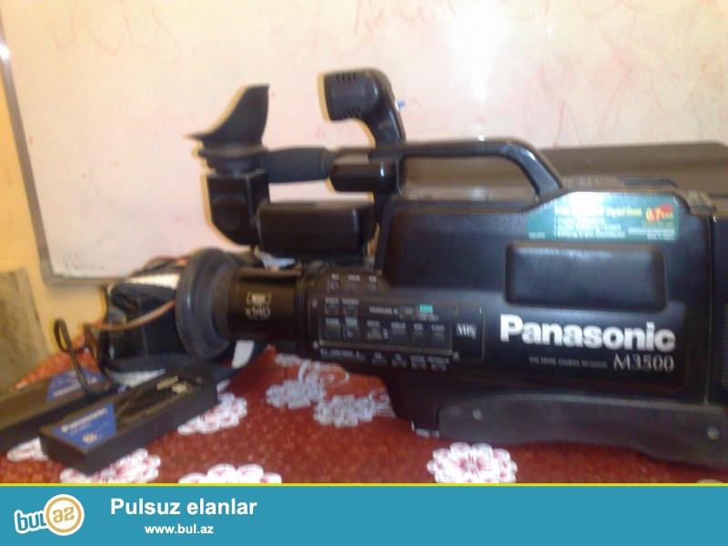 Satilir tecili. Panasonic M3500. Ideal veziyyetde. Az ishlenib...