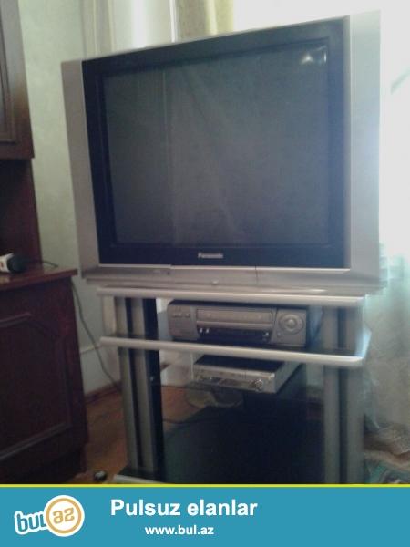 Panosonic televizor ve televizor altdığı satılır.