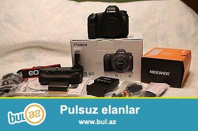 Canon EOS 6D 20.1 MP CMOS DSLR Camera<br /> <br /> Xoşbəxt müştərilərin xoşbəxt cəmiyyət edir...