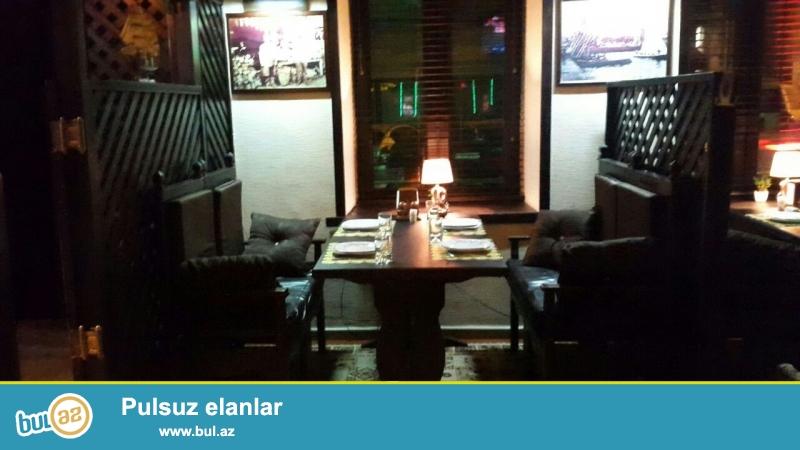 Sebail  rayonu Nizami kucesinde 4 mertebeli binanin 1-ci mertebesinde umumi sahesi 120 kvm olan restoran satilir...