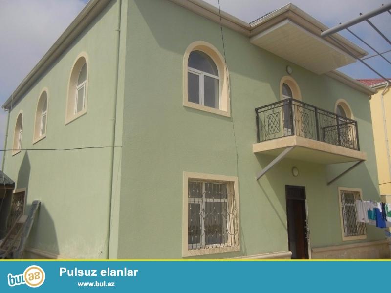 Bineqedi rayonu Zengezur sadliq evine yaxin 3,5 sotda 2 mertebe 8 otaqli 12-nin 13-e tikilib umumi sahesi 312 kv olan ela temirli ev satilir...