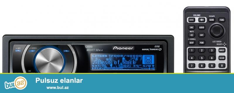 Технические параметры:<br /> Pioneer DEH-P6050UB-автомагнитола<br /> <br /> Съемная передняя панель;<br /> <br /> Точечно-матричный  OEL-дисплей;<br /> <br /> AUX-вход (mini-jack), на задней панели;<br /> <br /> Непосредственное управление iPod (при помощи CD-IU50);<br /> <br /> USB -порт;<br /> <br /> 7-полосный графический эквалайзер, ФНЧ/ФВЧ;<br /> <br /> Прямое управление сабвуфером Direct Sub Drive;<br /> <br /> Bass Boost;<br /> <br /> Технология ASR;<br /> <br /> Анализатор спектра;<br /> <br /> Индикатор уровня;<br /> <br /> Шина IP-Bus