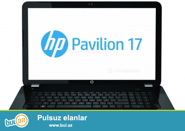 HP Pavilion 17-e012sr amd a10, 8gbram, 1gb vga, 17 ekran...