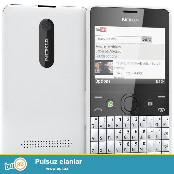 Nokia asha 210 . əla vəziyyətdədi. Təcili satıram...