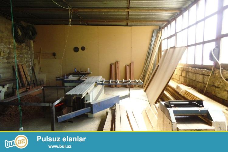 """Сдается готовый цех по изготовлению деревянных дверей, столов, стульев, лестниц около телеканала """" Лидер""""..."""